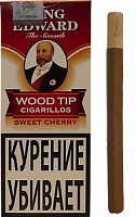 Сигариллы King Edward Sweet Cherry Wood Tip Cigarillos